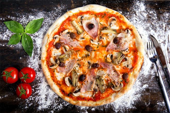 """Начинка для пиццы """"Капричиоза"""""""