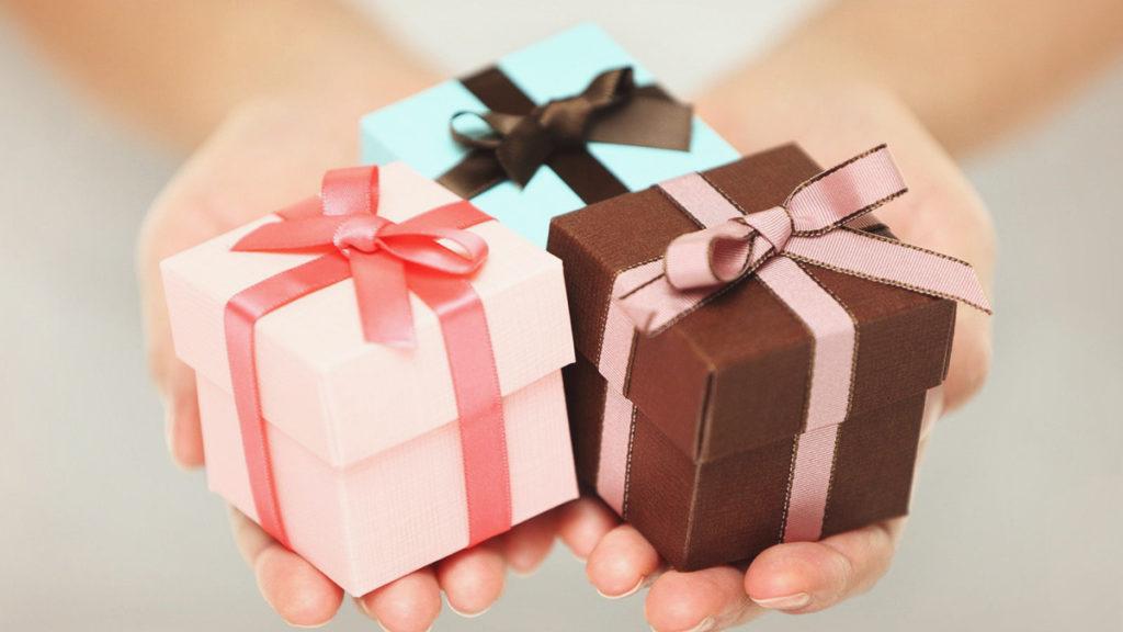 Ответный подарок под тип личности