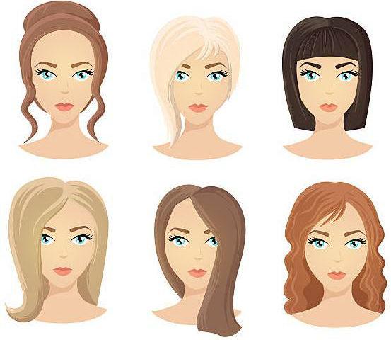 Прически по форме лица у женщин: идеальная стрижка