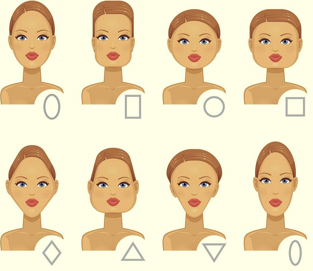 Разные виды причесок по форме лица у женщин