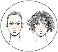 Прически для овальной формы лица у женщин