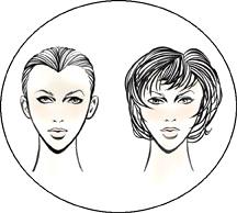 Прически для треугольной (сердцевидной) формы лица у женщин