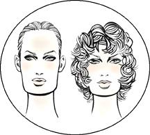 Прически для прямоугольной формы лица у женщин