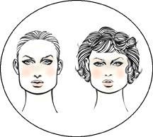 Прически для квадратной формы лица у женщин