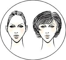 Прически для ромбовидной формы лица у женщин