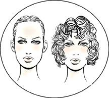 Прически для вытянутой (удлиненной) формы лица у женщин