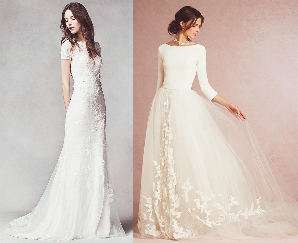 Как выбрать цвет платья для венчания