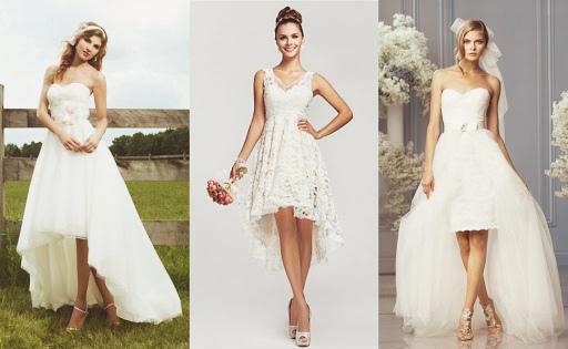Как выбрать длину платья для венчания