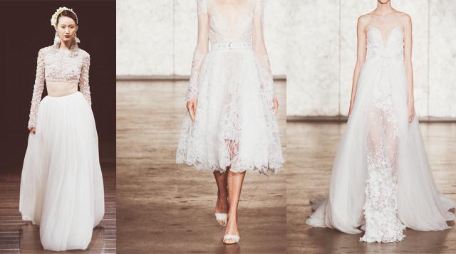 Как выбрать юбку для платья для венчания