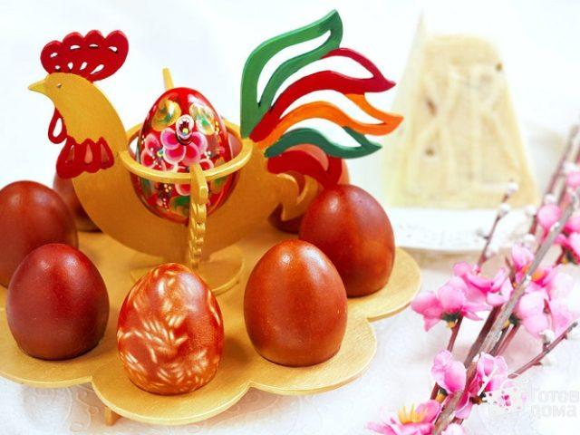 Лучшие натуральные красители для яиц на Пасху