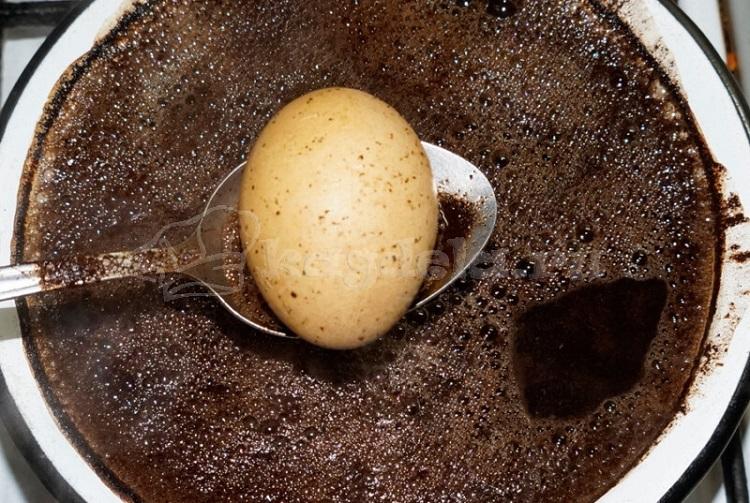 Кофе как краситель для яиц